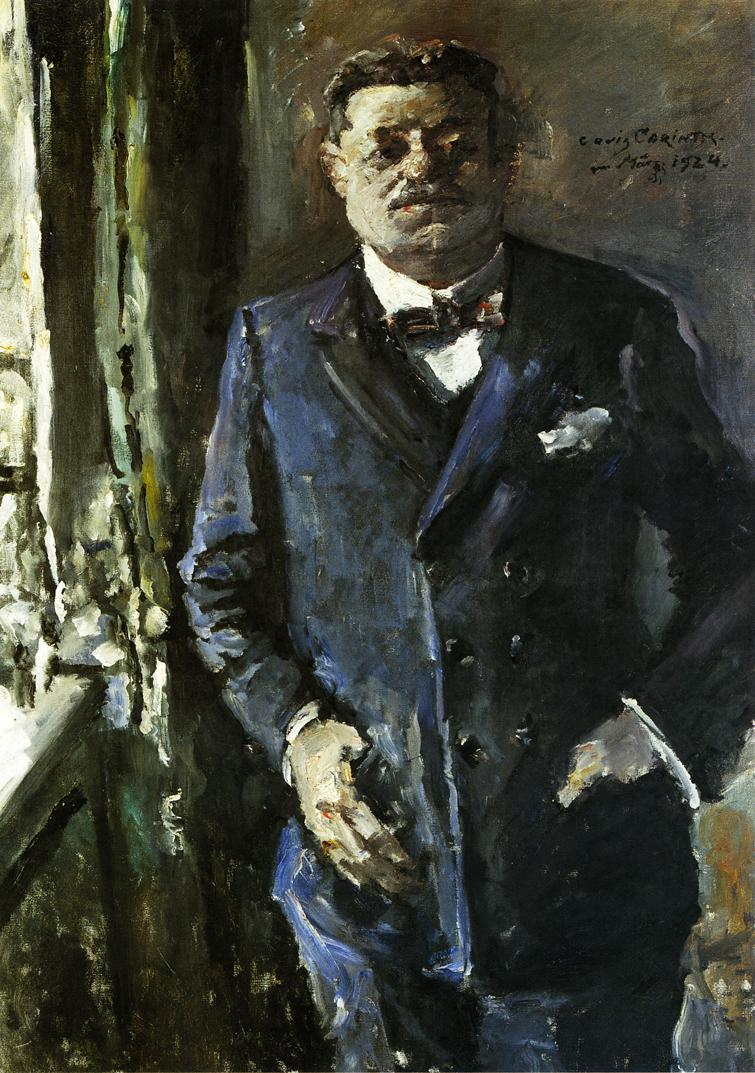Portrait of Friedrich Ebert | Lovis Corinth | oil painting