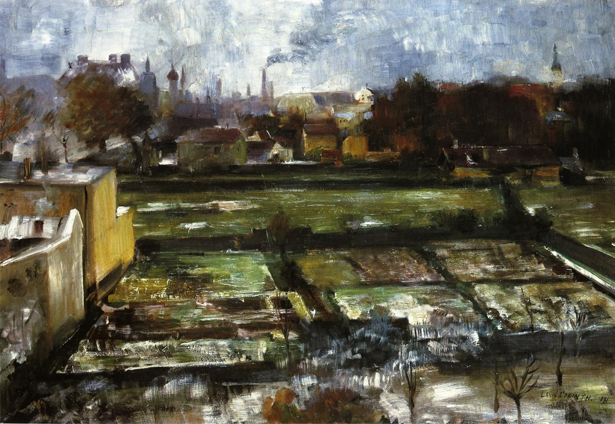 View from the Studio | Lovis Corinth | oil painting