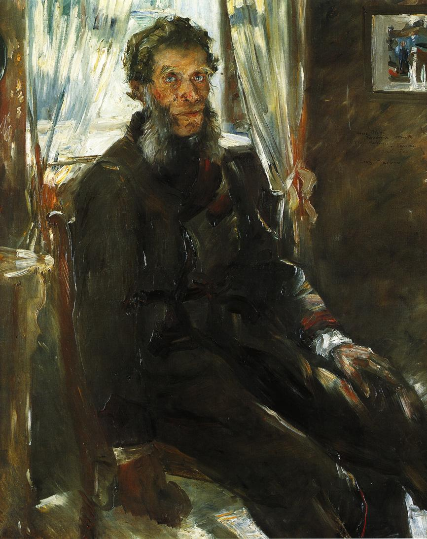 Portrait of the Artists Uncle Friedrich Corinth | Lovis Corinth | oil painting