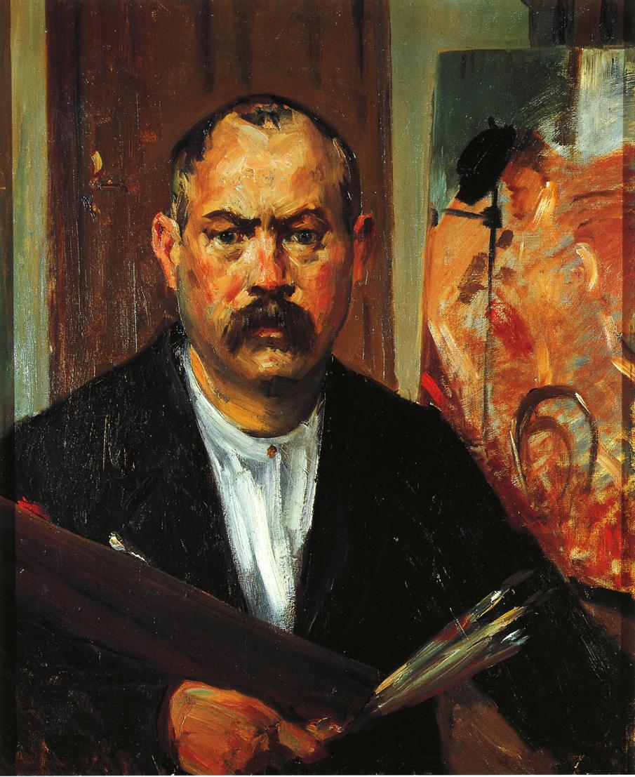 Self Portrait without Collar | Lovis Corinth | oil painting