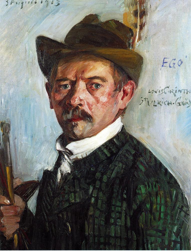 Self Portrait in a Tyrolean Hat | Lovis Corinth | oil painting