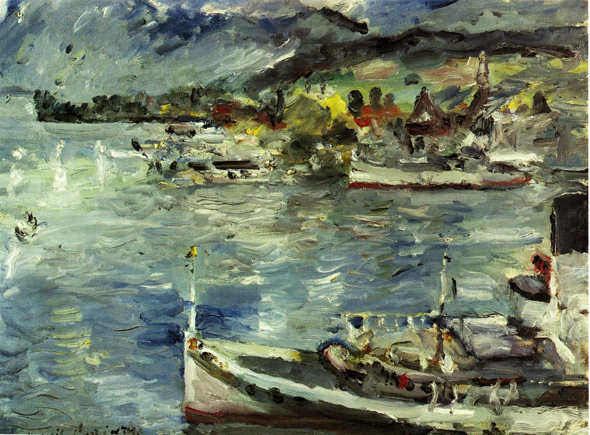 Lake Lucerne Morning | Lovis Corinth | oil painting