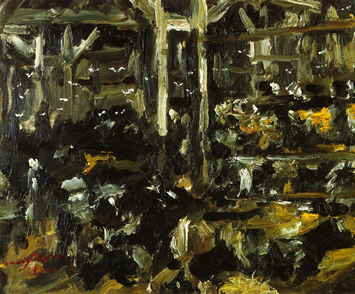 Cowshed | Lovis Corinth | oil painting