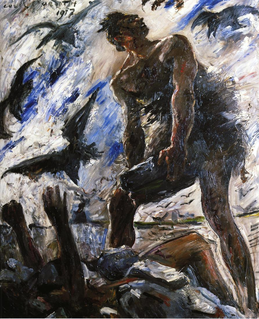Cain | Lovis Corinth | oil painting