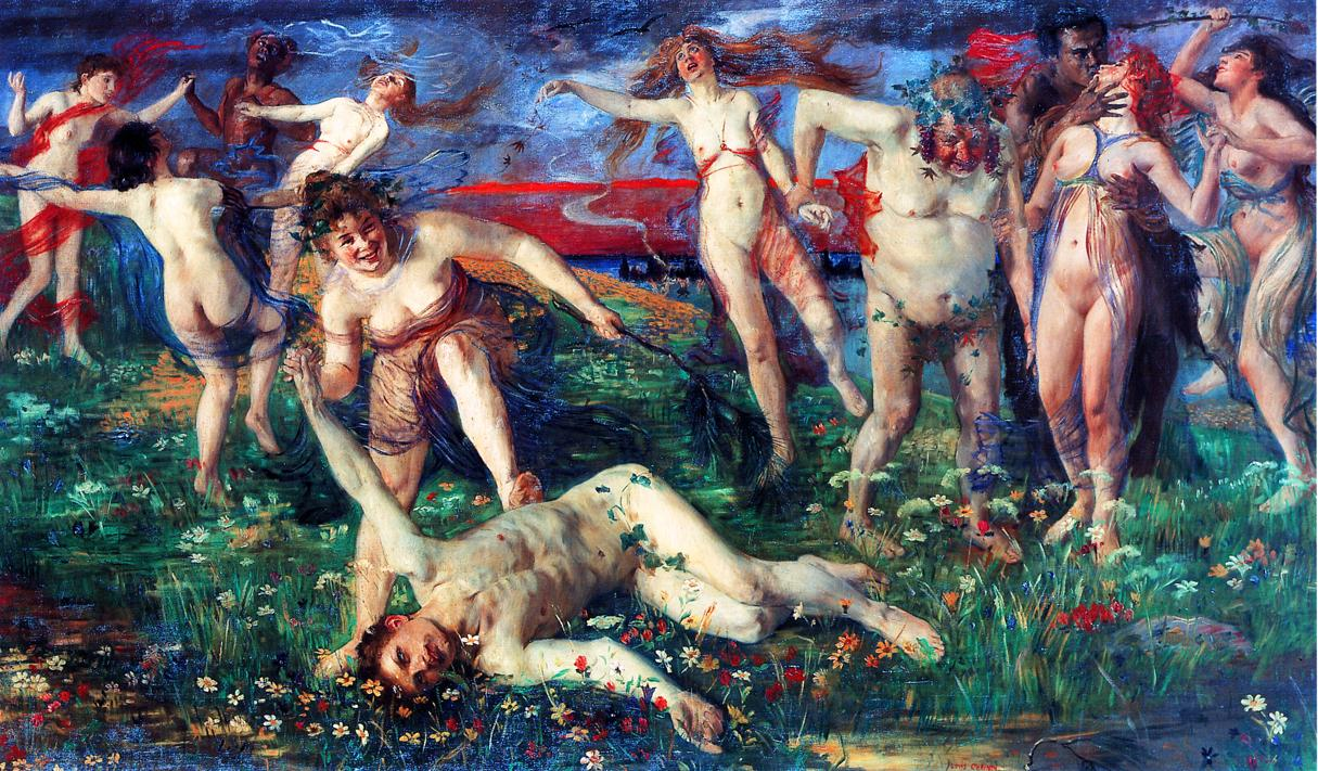 Bacchanal | Lovis Corinth | oil painting