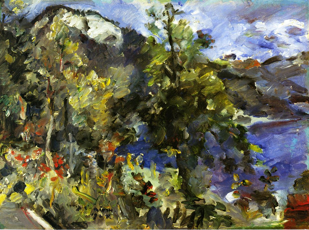 The Jochberg and the Walchensee | Lovis Corinth | oil painting