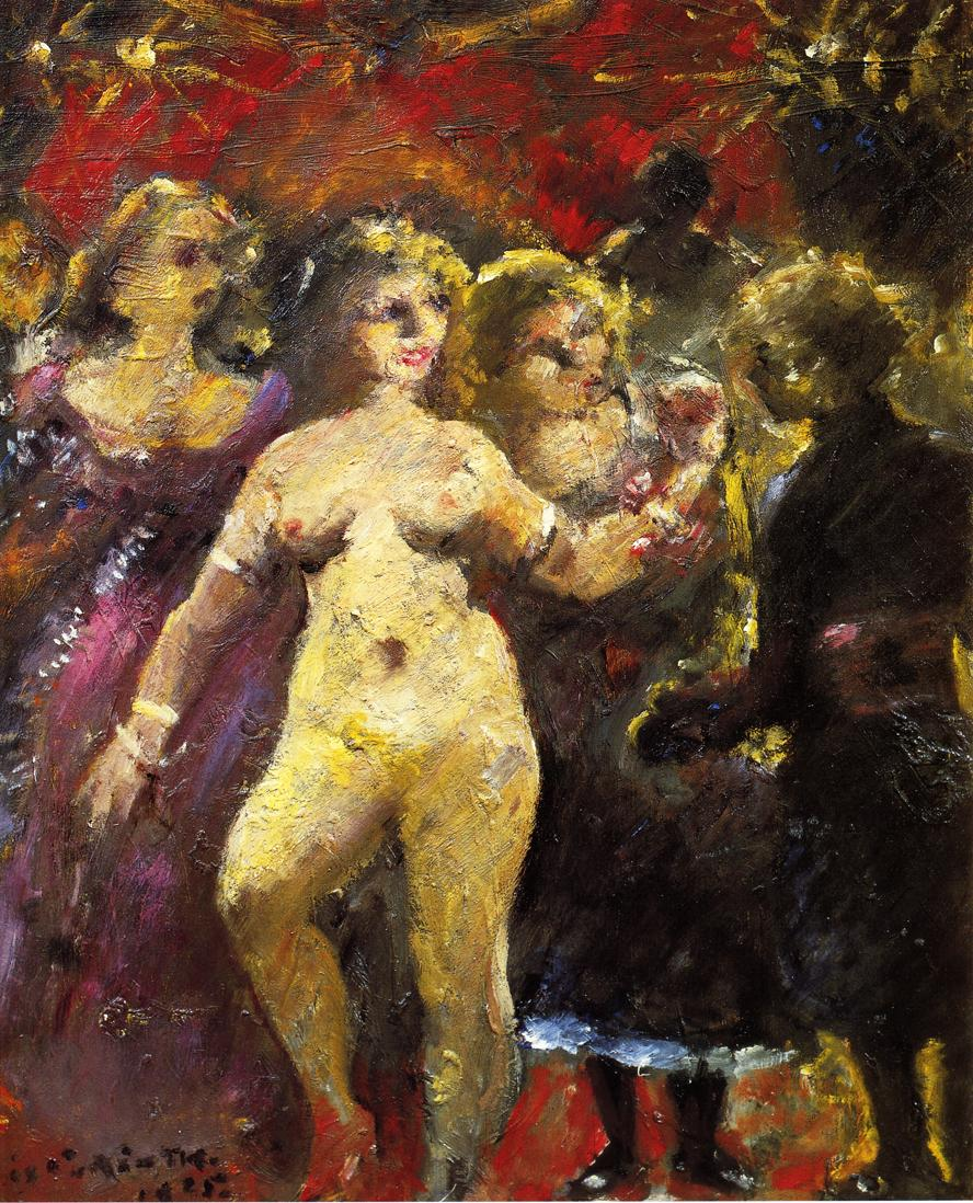 The Fair Imperia | Lovis Corinth | oil painting