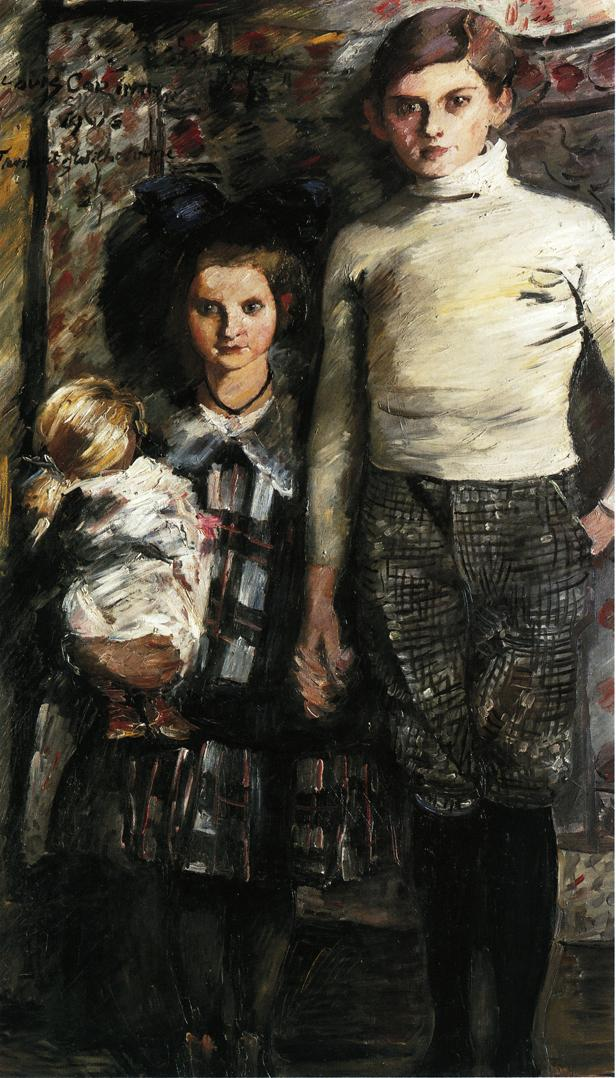 Thomas and Wilhelmine | Lovis Corinth | oil painting
