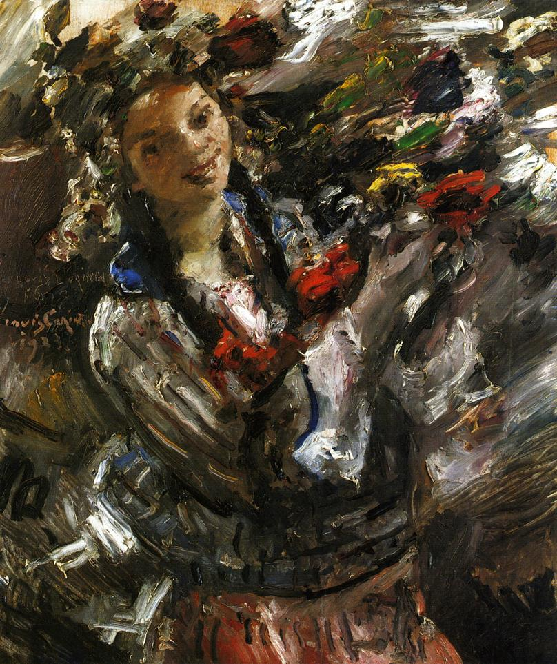 Flora | Lovis Corinth | oil painting