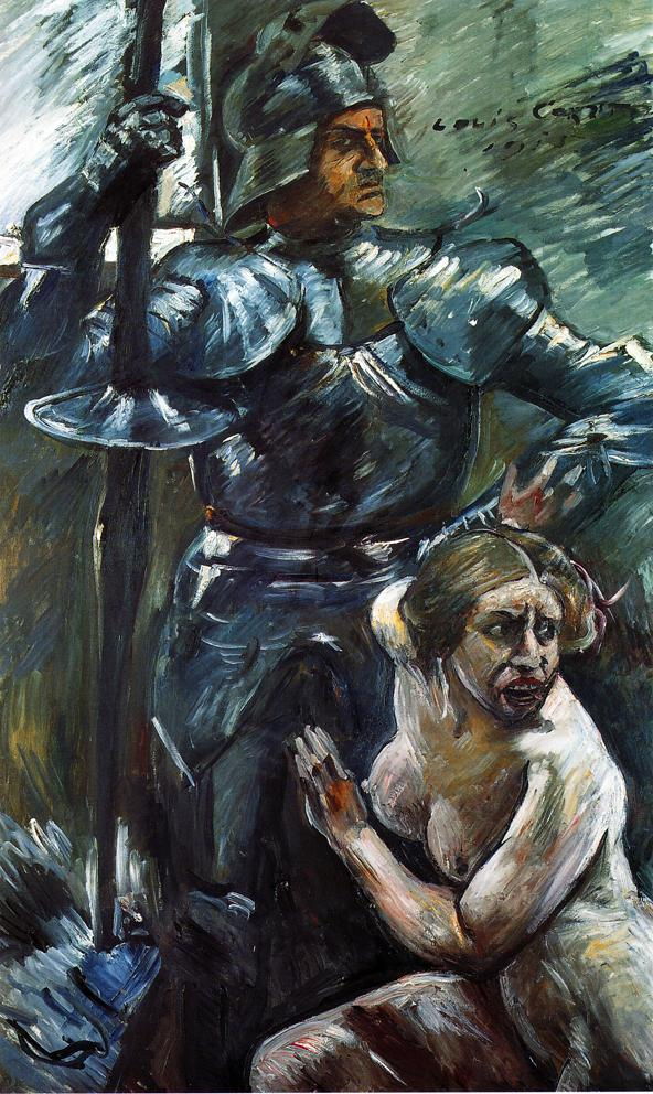 Beneath the Shield of Arms | Lovis Corinth | oil painting