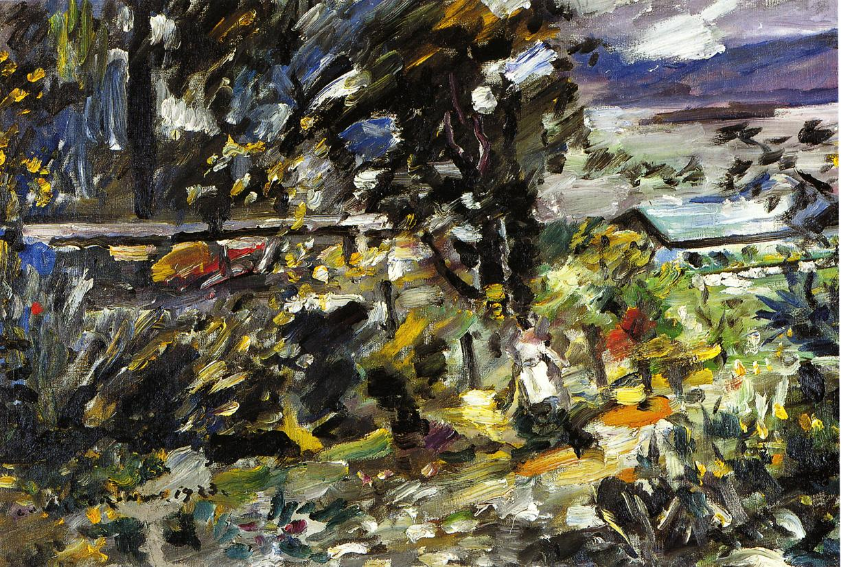 The Walchensee Silberweg | Lovis Corinth | oil painting