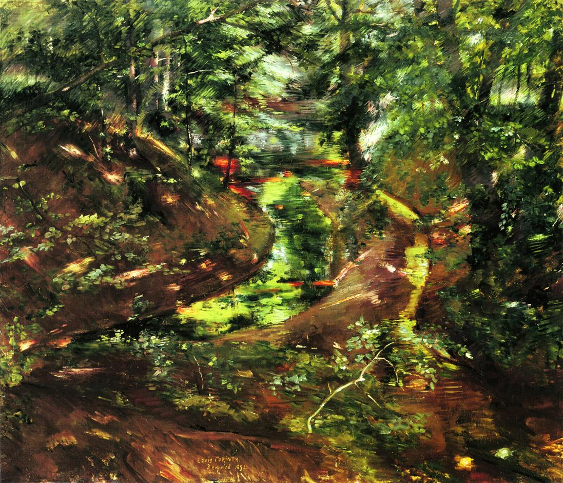 In the Woods near Bernried | Lovis Corinth | oil painting