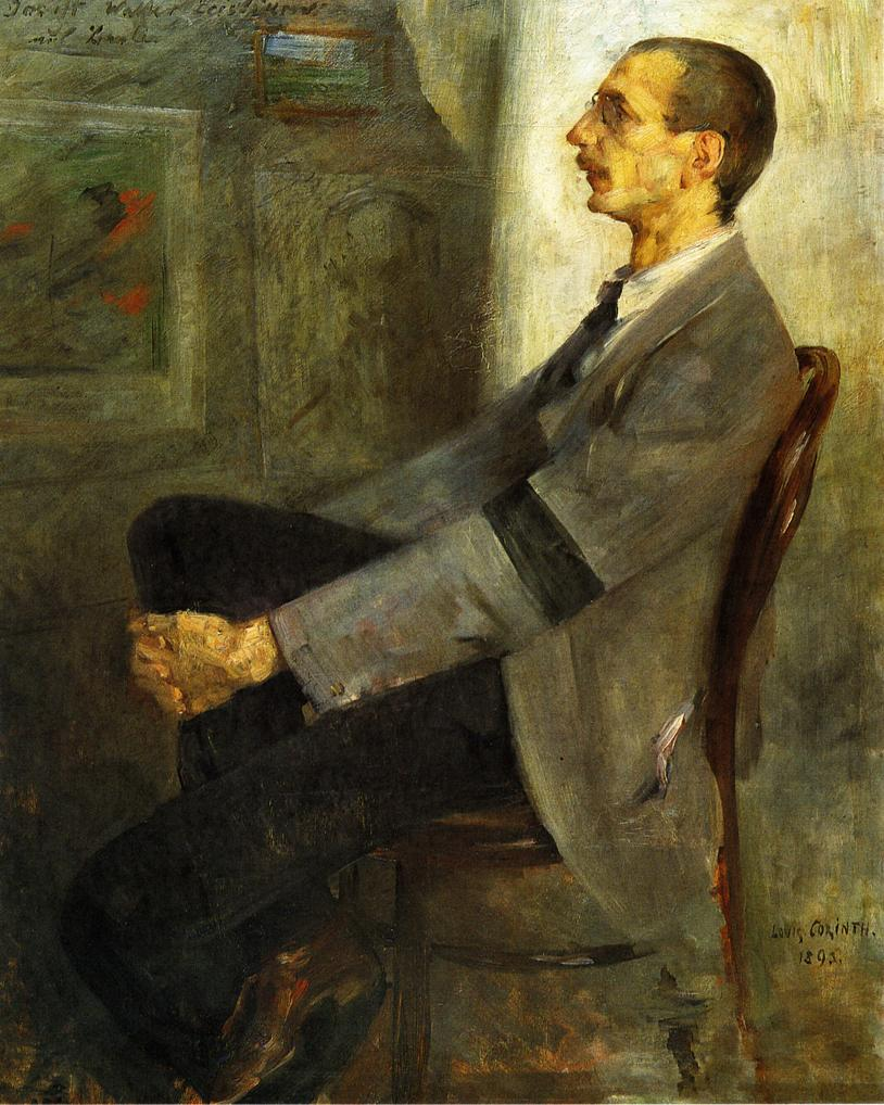 Portrait of the Painter Walter Leistikow | Lovis Corinth | oil painting