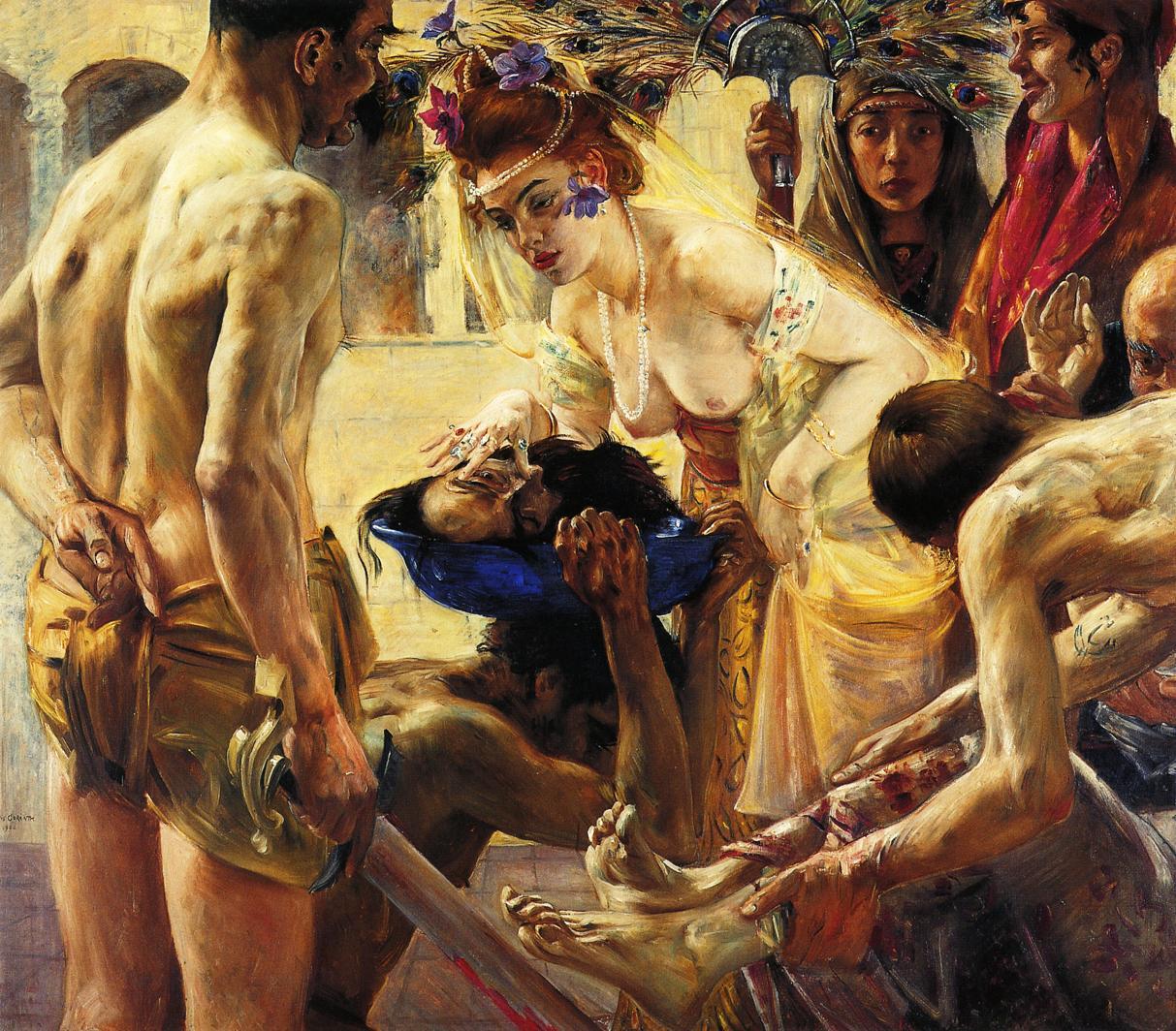 Salome Second Version | Lovis Corinth | oil painting