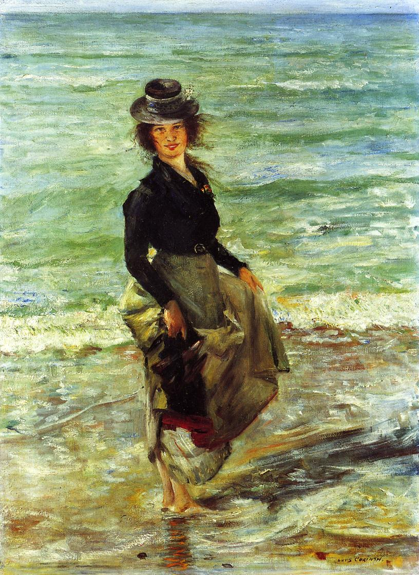Paddel Petermannchen | Lovis Corinth | oil painting