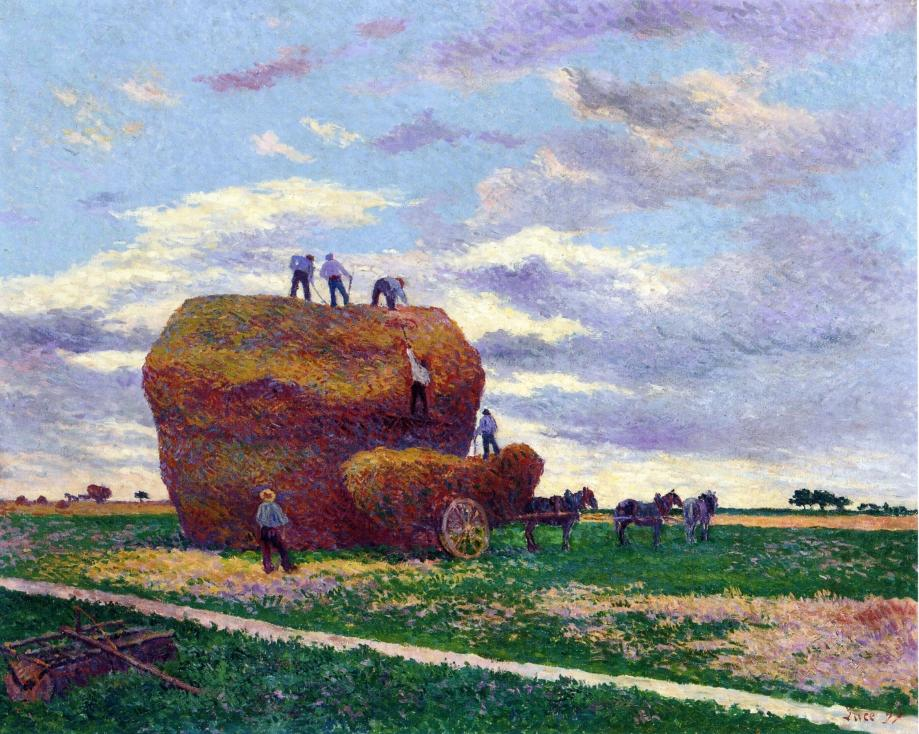 Haystack 1897 | Maximilien Luce | oil painting