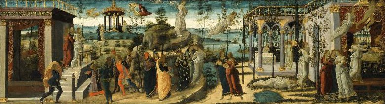 Story of Psyche 1490 | Jacopo del Sellaio | oil painting