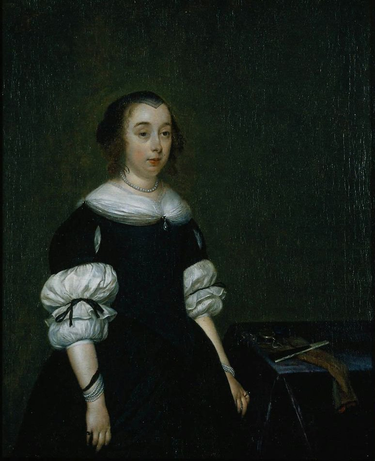 Portrait of a Woman 1670 | Gerard ter Borch | oil painting