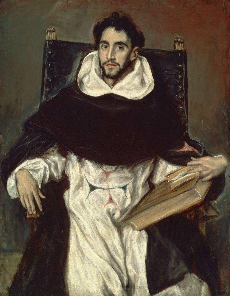 Fray Hortensio Felix Paravicino 1609 | El Greco Domenikos Theotocopoulos | oil painting