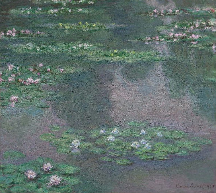 Sir Water Lilies 1905 | Claude Monet | oil painting