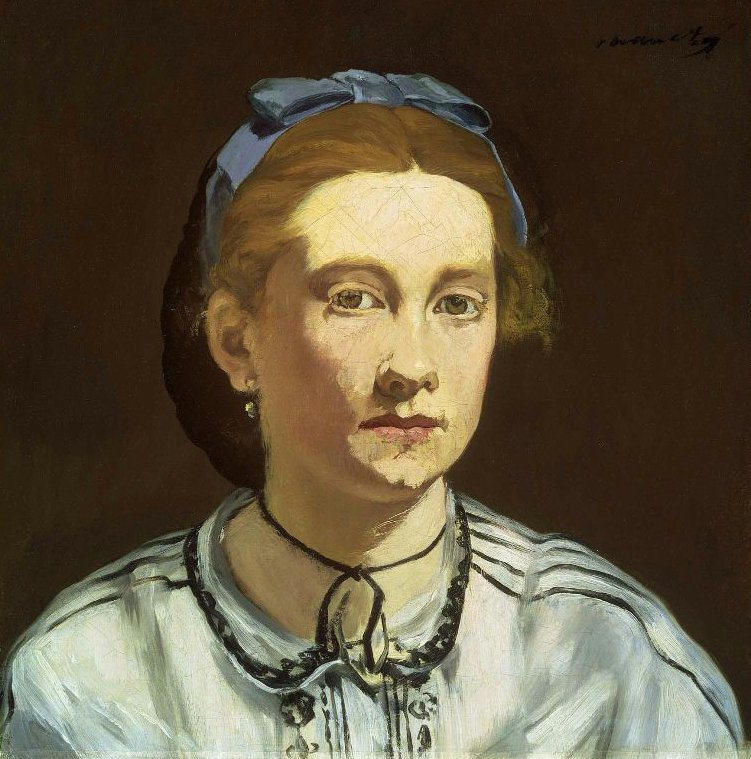 Victorine Meurent 1862 | Edouard Manet | oil painting