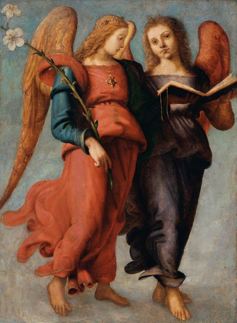 Two Angels 1521 | Piero di Cosimo | oil painting