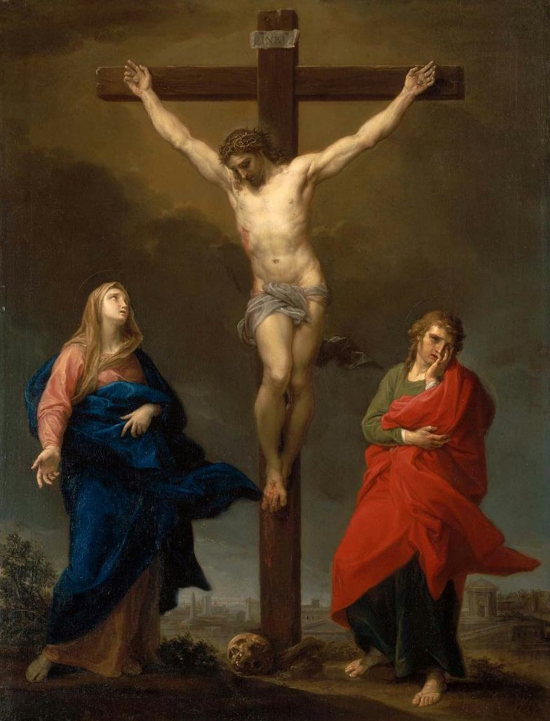 The Crucifixion 1762 | Pompeo Batoni | oil painting