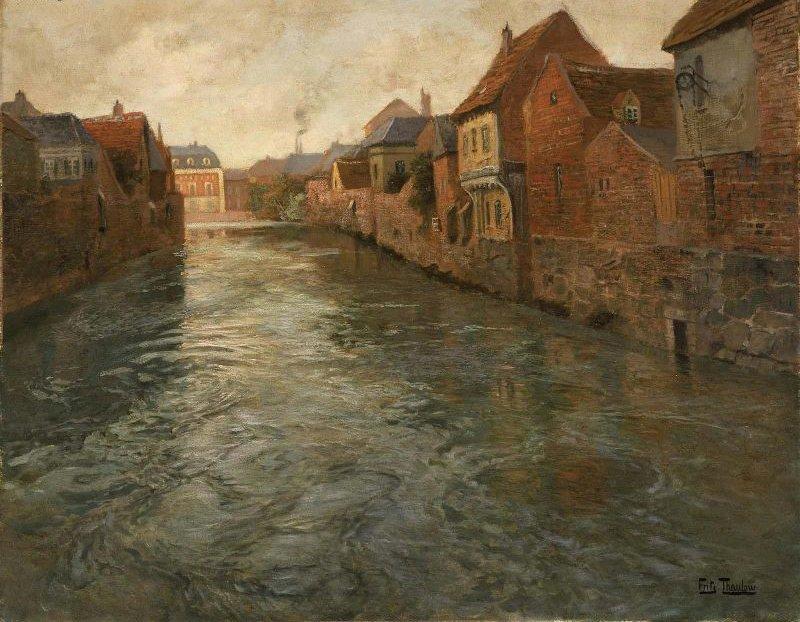 Abbeville | Johan Frederik Thaulow | oil painting