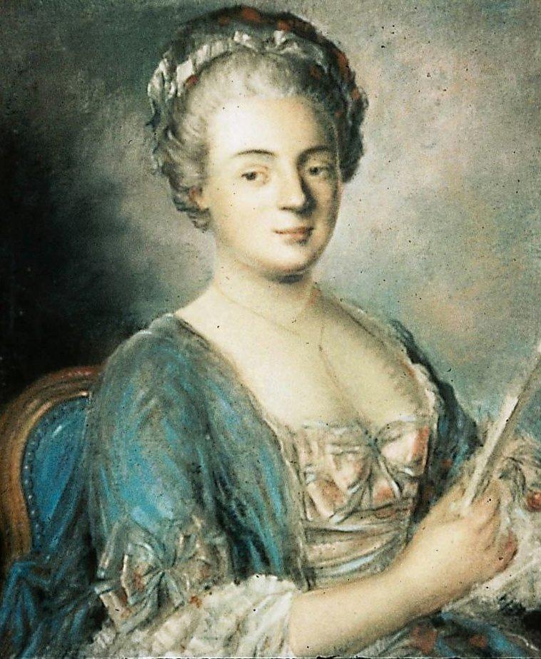 Portrait of a Woman Madame de Praroman nee d Affry | Unidentified artist | oil painting