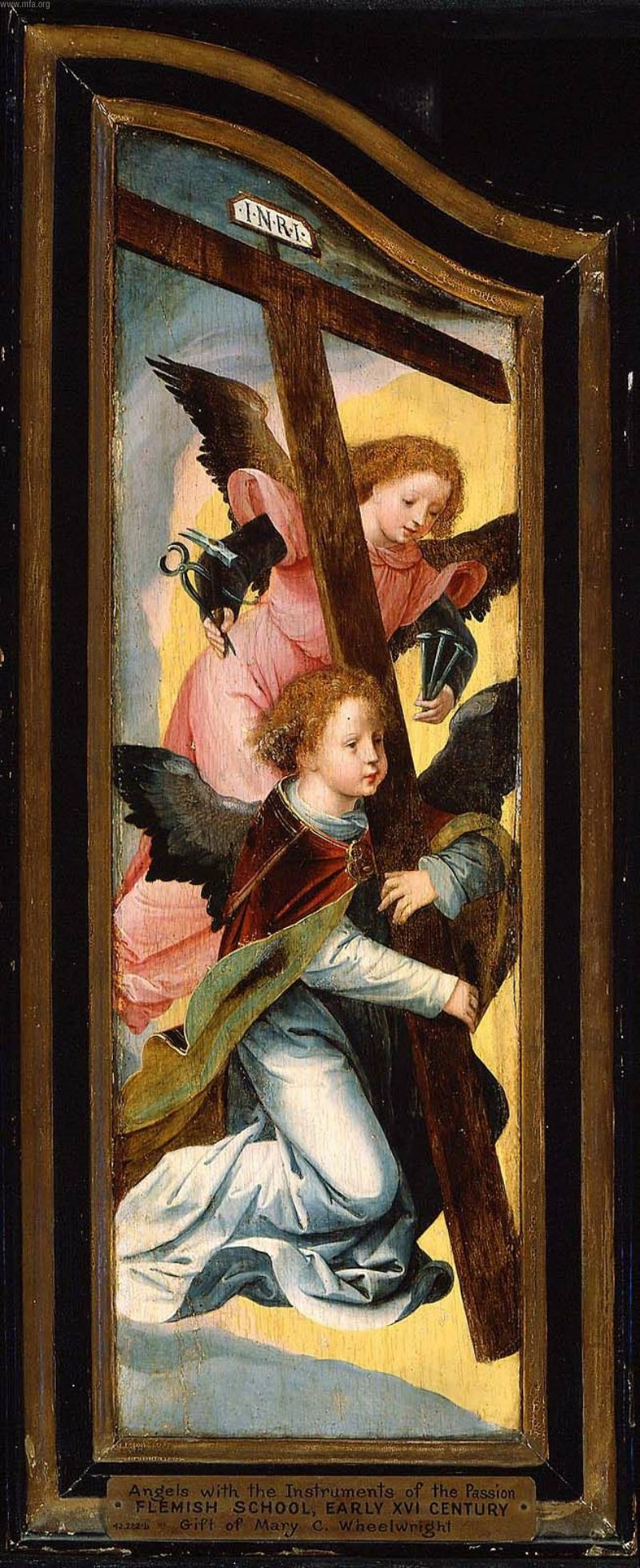 Angels with the Instruments of the Passion | Unidentified artist | oil painting