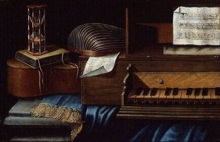 Musical Instruments | Evaristo Baschenis | oil painting