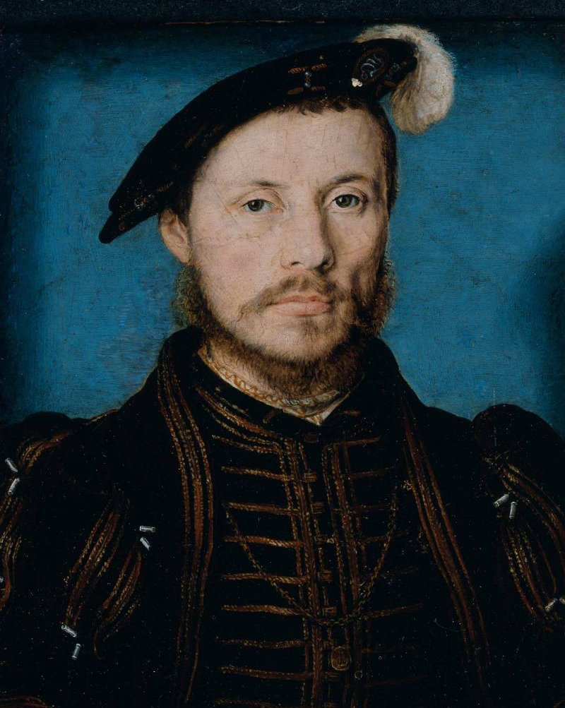 Portrait of a Man identified as Anne de Montmorency 1533 or 1536 | Corneille de Lyon | oil painting