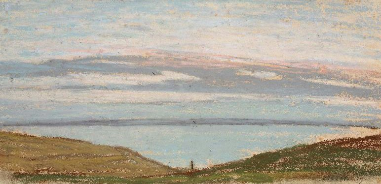 Broad Landscape 1862 | Claude Monet | oil painting