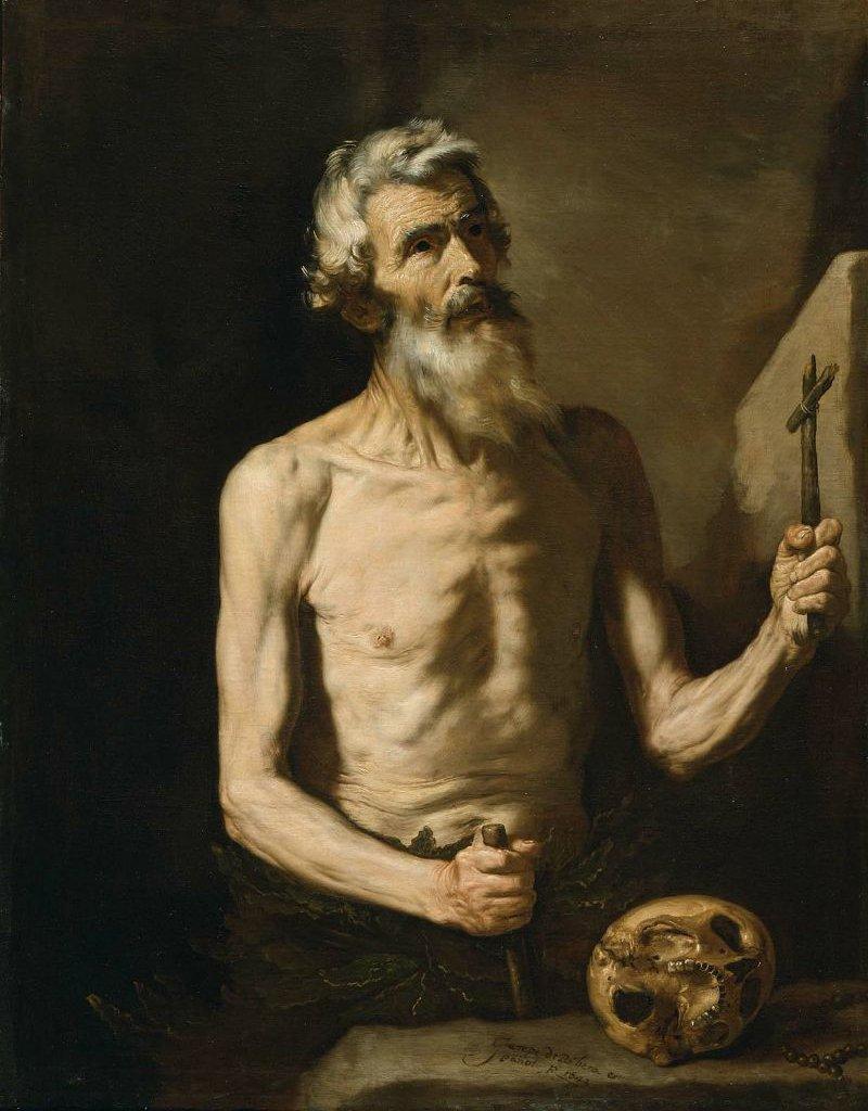 Saint Onophrius 1642 | Jusepe de Ribera | oil painting