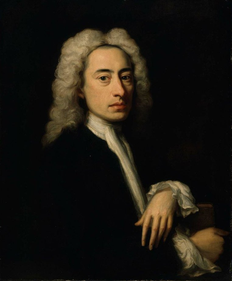 Alexander Pope 1736 | Jonathan Richardson | oil painting