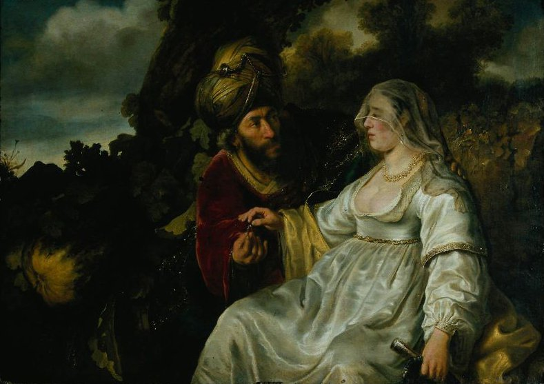 Judah and Tamar 1644 | Ferdinand Bol | oil painting
