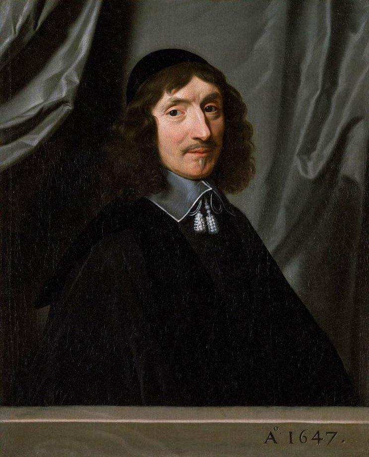 Portrait of Valentin Valleron de Perrochel 1647 | Philippe de Champaigne | oil painting