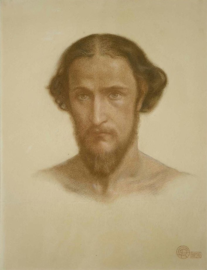 William J Stillman 1870 | Dante Gabriel Rossetti | oil painting