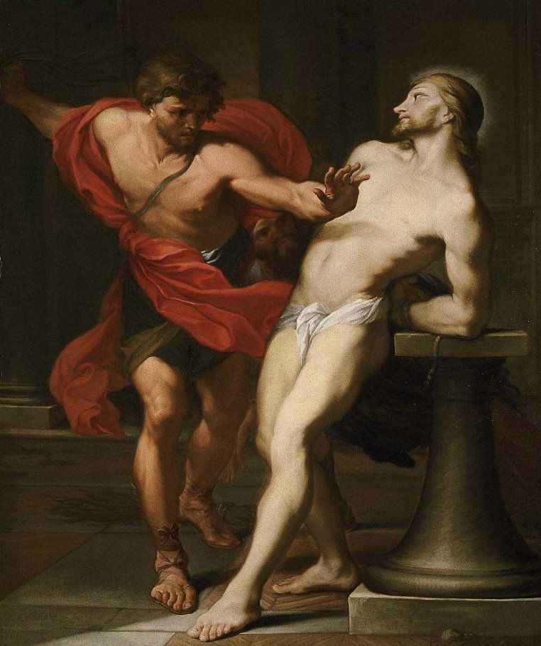The Flagellation of Christ | Carlo Maratti | oil painting
