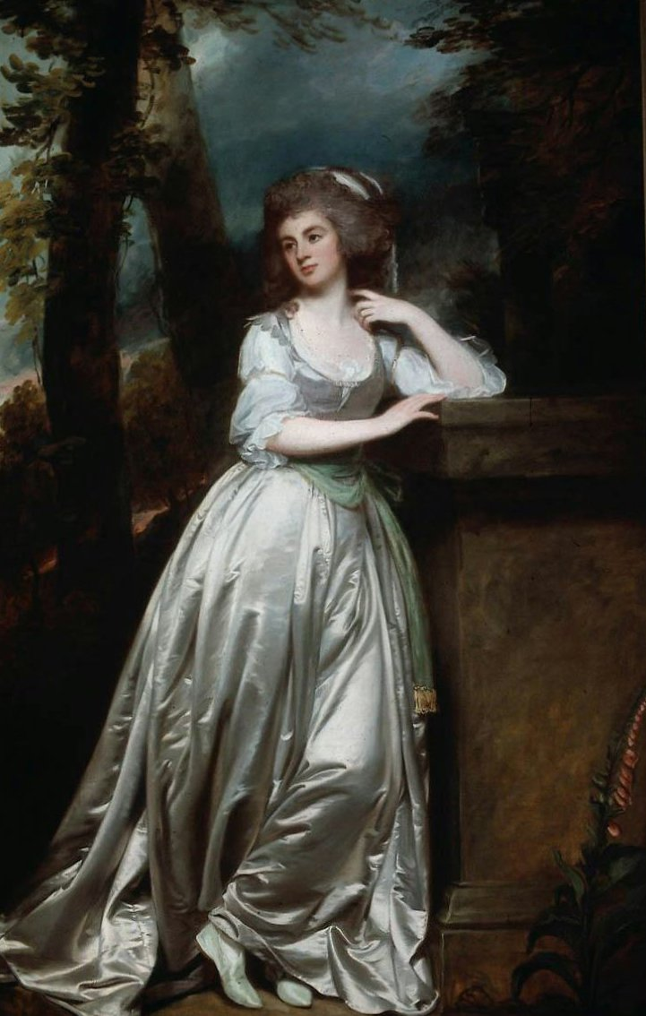 Princess Anne Lady de la Pole 1786 | George Romney | oil painting