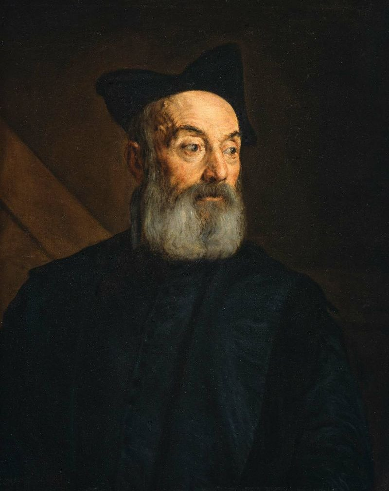 Portrait of a Man 1576 | Jacopo Bassano | oil painting