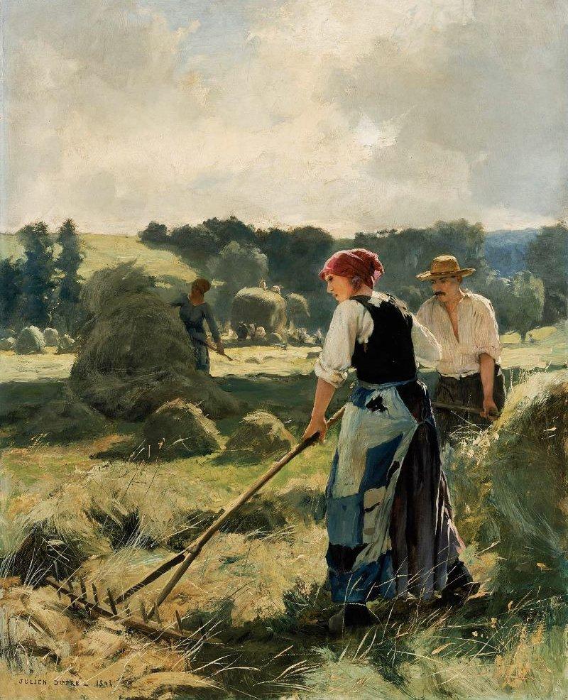 Haymaking 1892 | Julien Dupre | oil painting