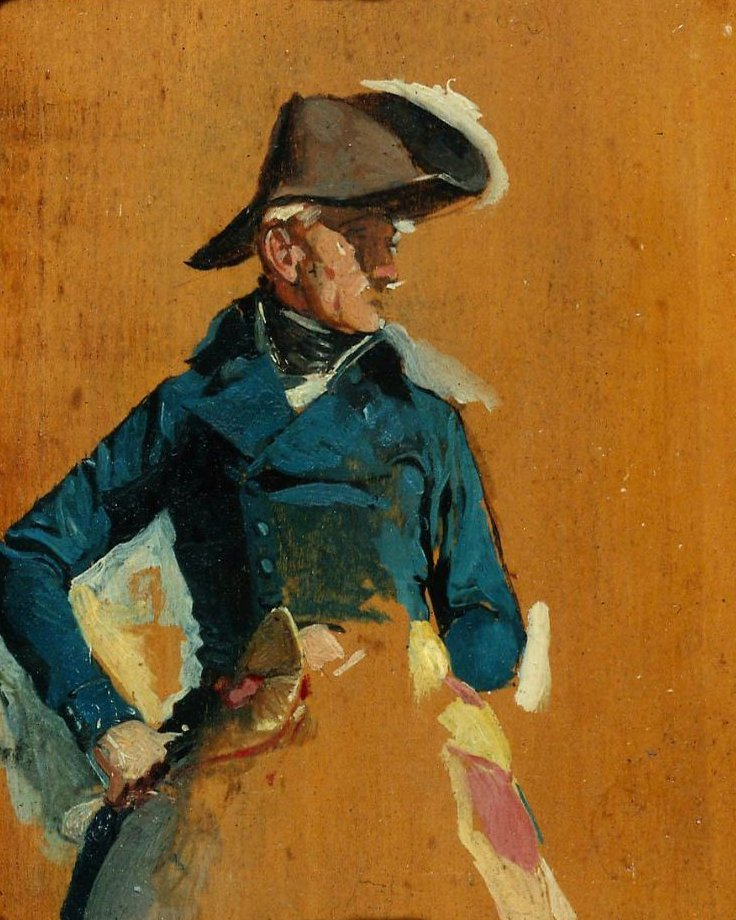 Officer | Jean Louis Ernest Meissonier | oil painting