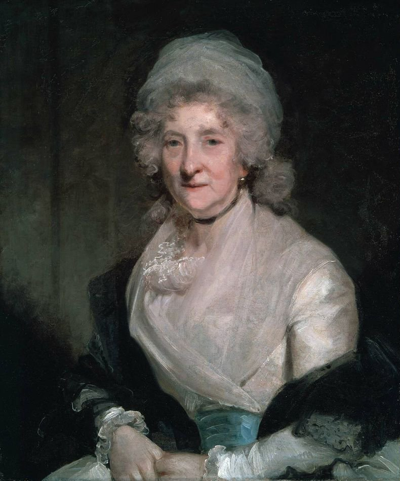 Dorcas Lady Blackwood Dorcas Stevenson Baroness late 18th century | Circle of Gilbert Stuart | oil painting