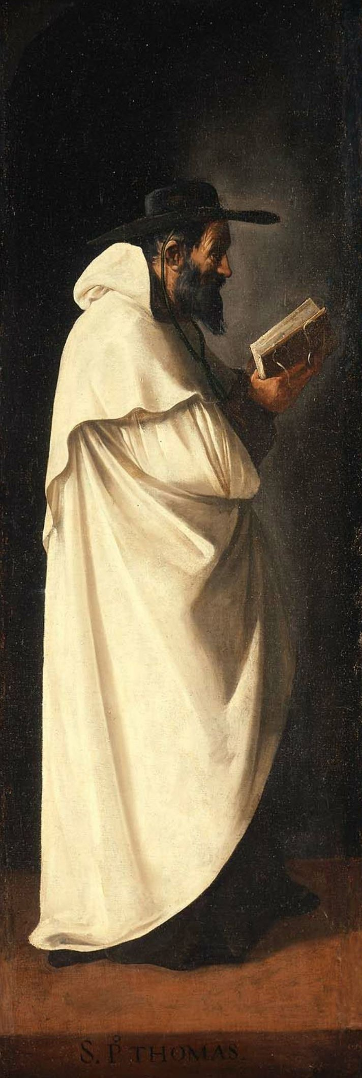 Saint Peter Thomas 1632 | Francisco de Zurbaran | oil painting