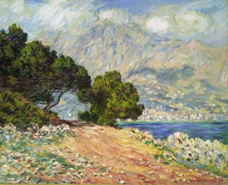 Cap Martin near Menton 1884 | Claude Monet | oil painting