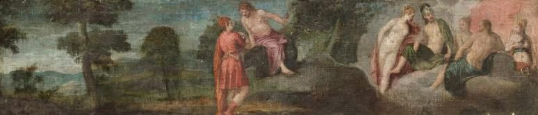 Jupiter with Gods and Goddesses on Olympus 1560s   Paolo Veronese   oil painting
