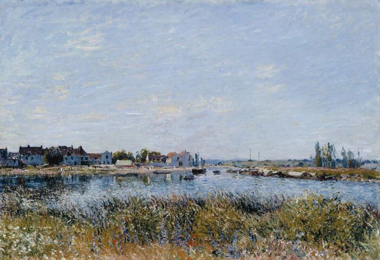 int Mammes Morning Le Matin 1881 | Alfred Sisley | oil painting