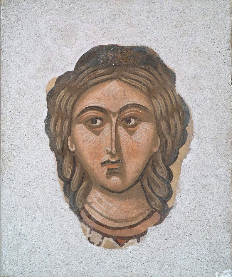 Head of a Female Saint | Unidentified artist | oil painting