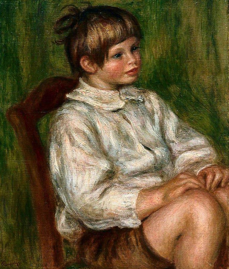 Coco Claude Renoir 1910 | Pierre Auguste Renoir | oil painting